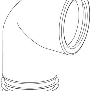 WC öblítő cső 303B